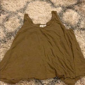 Tan tank top